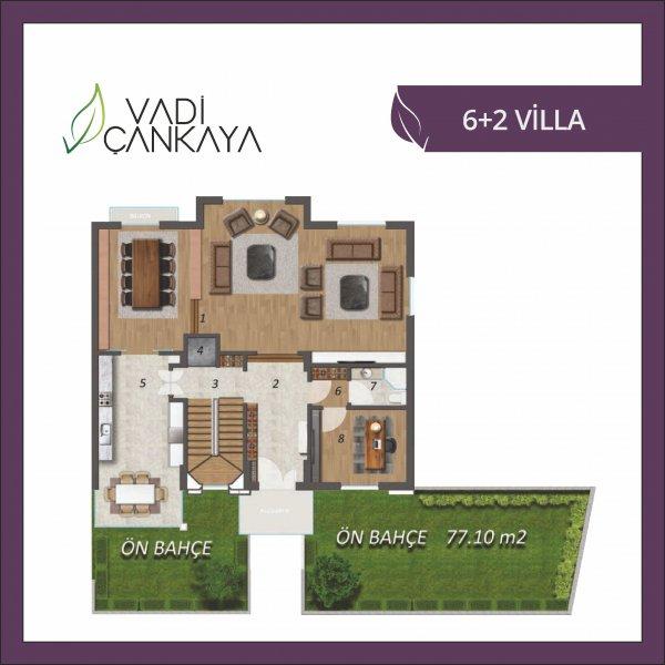 6+2 Villa